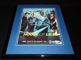House of Lies 2011 Showtime Framed 11x14 ORIGINAL Advertisement Kristen ... - $32.36