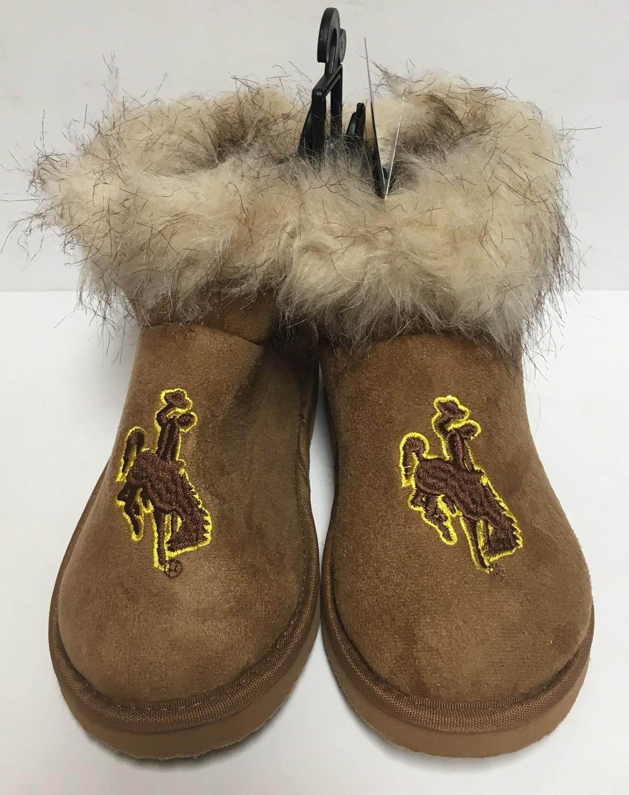 Wyoming University Boots Bucking Horse & Rider UW Logo Women's Many Sizes image 5