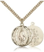 MIRACULOUS MEDAL – Gold Filled Medal – 0017M - $149.99