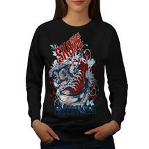 Urban Skater Street City Jumper Skateboard Women Sweatshirt - $18.99