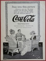 Coca-Cola                1916 Magazine Ad                 Step Into This... - $12.00