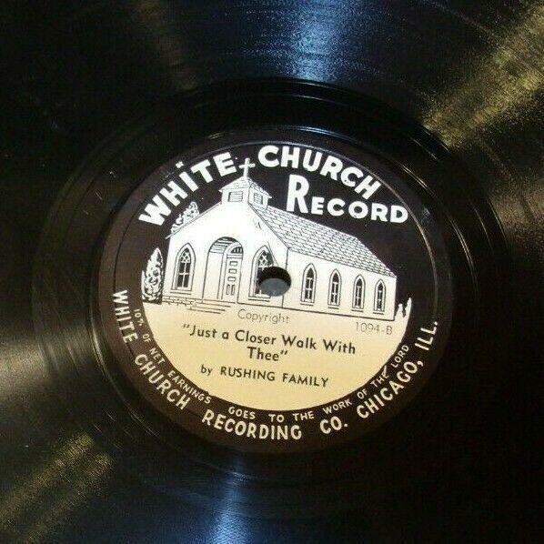 White Church Record # 1094 AA-191720E Vintage Collectible