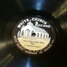 White Church Record # 1094 AA-191720E Vintage Collectible image 1