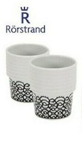 Rorstrand Home Printed Cups Minimalistic White Size OS - $39.40