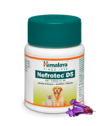 Himalaya Herbal Nefrotec DS tablets dogs & cats pets,  animal care 60 ta... - $16.79