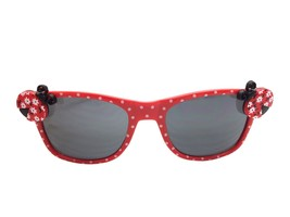 Women's Red Polka Dot Sunglasses with Hand-Applied Ladybug Embellishment... - £15.20 GBP