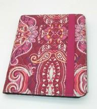 "Vera Bradley iPad Tablet Sleeve Case Cover Raspberry Fizz Paisley - 9.7""... - $15.99"