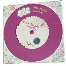 American Girl Truly Me Game Pick A Color Choose An Activity Wheel Card Game - $8.90