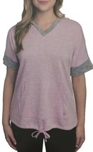 Champion Women's Lightweight Short Sleeves Hoodie (Lillia Purple, Medium) - $14.99