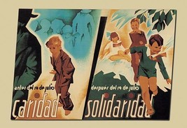 Before July 19, Charity - After July 19, Solidarity by Arturo Ballester - Art Pr - $19.99+