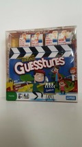 Guesstures Game Charades Parker Brothers 2008 Trophy Clapboard Timer Party Fun - $22.77