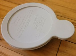 Vintage Corning Ware GRAB-IT Bowl French White with Plastic Lid P150-CPC... - $9.74