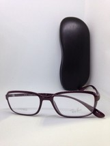 New Authentic Ray Ban Rb 7037 5432 Shiny Brown Lifeforce Eyeglass Frames 53mm - $37.39