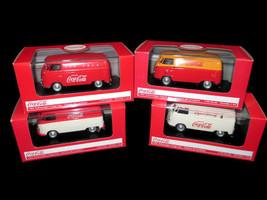 Coca-Cola  Set of 4 1:43 Model 1962 Volkswagen Cargo Van VW - $94.05