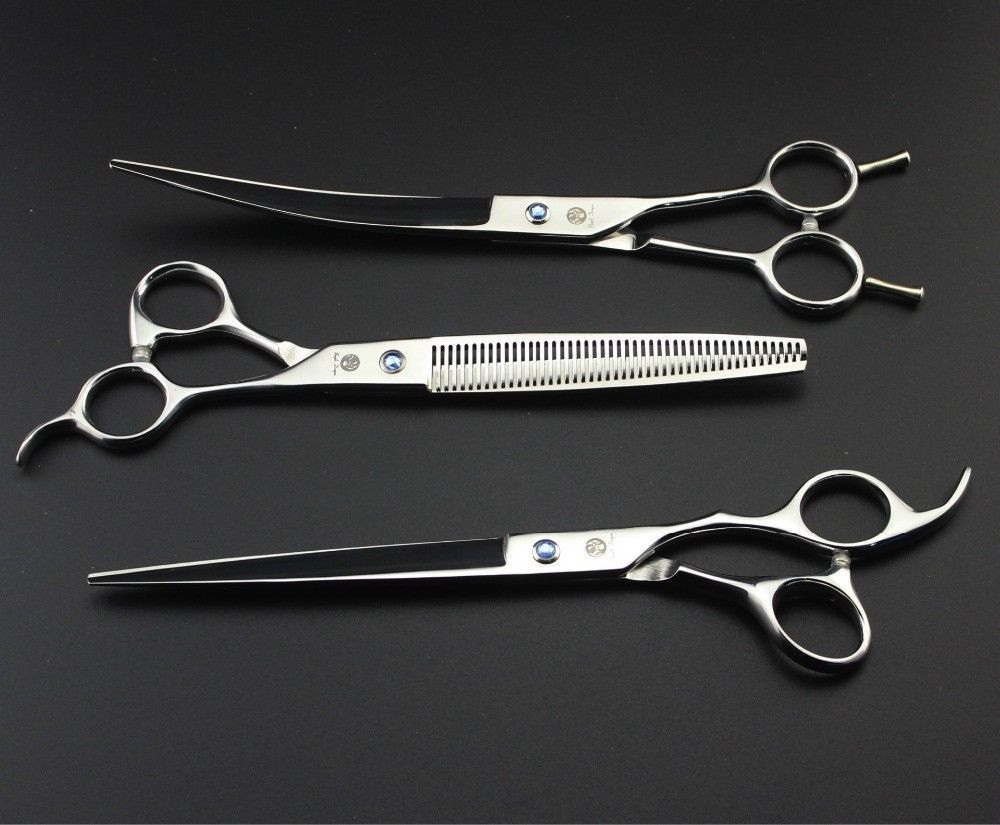 MrTiger® Hot Japan 7 Or 8 Inch Professional Pet Grooming Scissors Shears Set