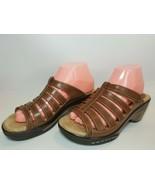 Rialto Valencia Slide Sandal, Women's Size 8.5 M Brown - $26.68
