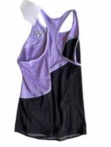 NWT NEW Purple Black Yonex Racerback Running Athletic Tank Top Women Sz S Tennis image 3