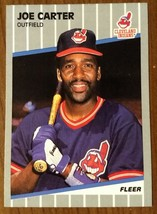 Joe Carter Cleveland Indians 1989 Fleer #400 - Fast Shipping - $1.97