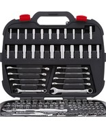 Mechanics Tool Set 134 Piece Socket Ratchets Wrenches Accessories Garage... - $109.99