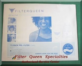 FILTER QUEEN GENUINE FILTER CONES 12pkg - $34.99