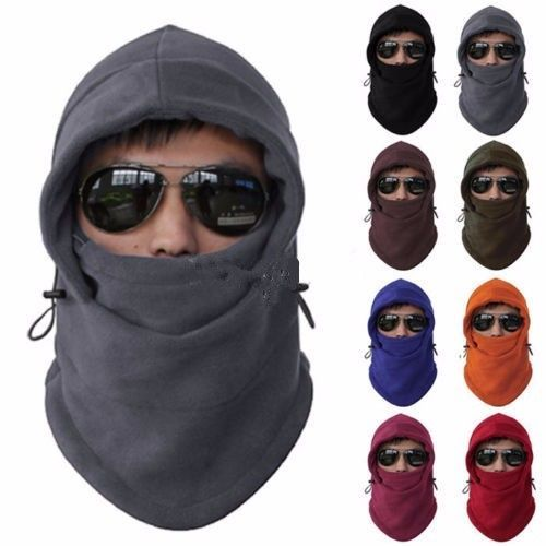 New Arrival Face Mask Thermal Fleece Balaclava Hood Swat Bike Wind Winter for sale  USA
