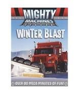 Mighty Machines Winter Blast DVD Snowstorm Plows Ski Snow Blower Childrens - $9.89