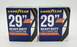 """TWO new tubes - Goodyear 29"""" x 1.9""""-2.3"""" Heavy Duty Bike Tube, Black - $29.69"""