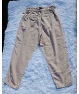 "Free People Pleated Pull-On ""Misty Rose"" Trouser Pants Women's Size Medi... - $50.49"