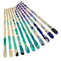 1000pcs Wax Spatulas Small Wax Wood Sticks, Waxing Applicator Sticks Wooden Craf image 5