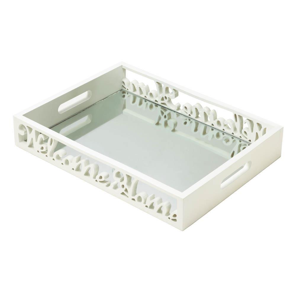 Breakfast Tray, Welcome Home Small Modern Flat Lightweight Bed Tray Breakfast