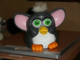 McDonalds Mini Furby 1998 Happy Meal Toy Collectible Gray Body Gray Hair... - $4.99
