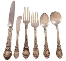 Charles II by Lunt Sterling Silver Flatware Service for 8 Set 54 pieces  - $3,250.00