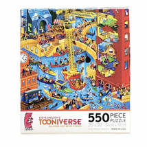 Ceaco Tooniverse Jigsaw Puzzle All Dogs Must Be On A Leash 550 Piece Mad... - $24.84