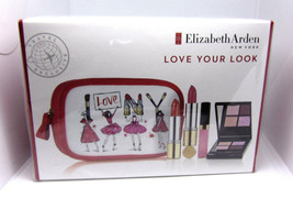 ELIZABETH ARDEN LOVE YOUR LOOK Cosmetic Set  NIB - $31.60