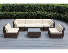 Ohana 7-Piece Outdoor Patio Furniture Sectional Conversation Set, Mixed ... - €1.517,69 EUR