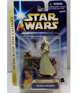 Star Wars Saga ATOC Padmé Amidala #22 Secret Ceremony action figure 2003 - $13.95