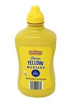 Burman's Classic Yellow Mustard, 20oz