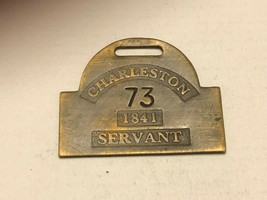 Vintage Watch Fob - Charleston Servant - $30.00