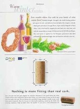 Corks For Wine From Portugal 2002 AD Real Cork Irreplaceable - $14.99