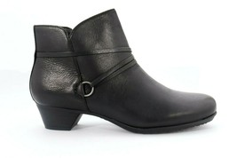 Abeo Maya Booties Black Women's Size US 7 Neutral Footbed() 5174 - $65.00