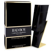 Bad Boy by Carolina Herrera Eau De Toilette Spray 3.4 oz for Men - $128.95