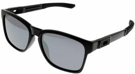 Oakley Sunglasses Men Catalyst Rectangular Black Iridium OO9272 927202 - $137.61