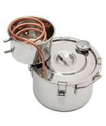 10L Copper Moonshine Ethanol Alcohol Water Distiller Copper Distiller Mo... - $185.39