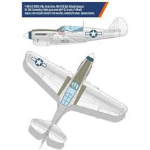 Academy 12341 USAAF P-40N Battle of Imphal Plastic Hobby Model Kit 1:48 Scale image 3