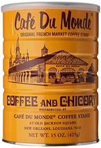 Cafe Du Monde Coffee Chicory, 15 Ounce Ground - $17.81