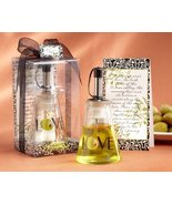 """Olive You!"" Glass LOVE Oil Bottle in Signature Tuscan Box Set of 24 - $113.96"