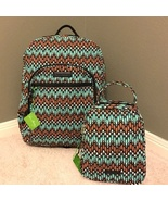Campus Backpack and Lunch Bunch in Sierra Stream - $110.00