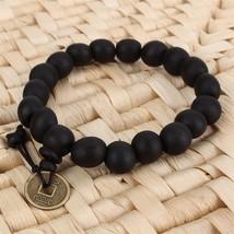 2pcs/set Unisex Fashion Charm Hot Wood Buddha Buddhist Prayer Beads Tibet Bracel - $13.13