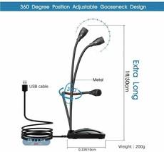 USB PC Gooseneck Microphone, Cardiod Polar Pattern image 2