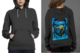 Classic Hoodie Black women The Inscredible Hulk - $28.99